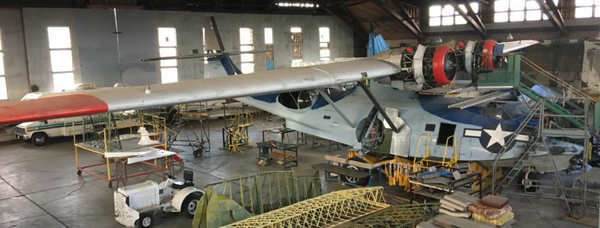 CAF's Consolidated PBY-6A Catalina Restoration Update
